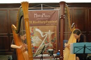 Atlantic Harp Duo at the Centro Cultural do Banco do Brasil, Rio de Janeiro