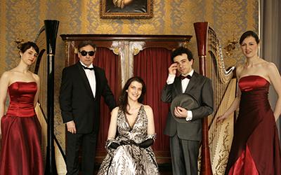 left to right: Marta Power Luce, Alain de Bock, Katherine Gabelle, Damien Luce, Elizabeth Jaxon